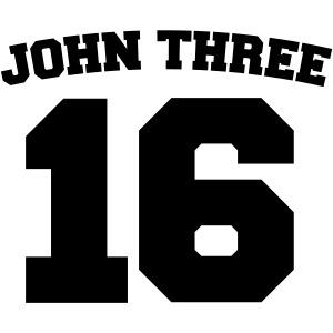 John Three 16 Jersey