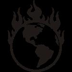 La planète en feu