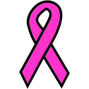 Awareness Ribbon - Breast Cancer or customize