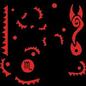 Scorpius Zodiac Sign Art