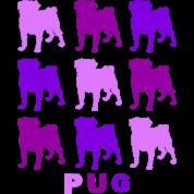 Purple Pugs