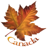 Canada Maple Leaf Art Souvenirs T-shirts Apparel