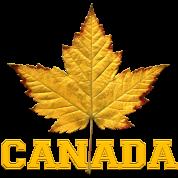 Canada Souvenir Yellow Maple Leaf Canada Souvenirs