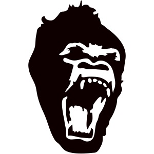 Gorilla Screaming