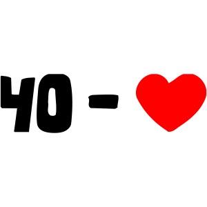 tennis - 40 - LOVE (2 colors) - tennis-shirts.net