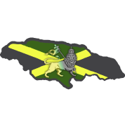 Reggae Lion Map