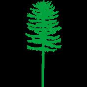 tall skinny green tree