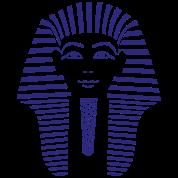 King Tut 1 Color - Pharaoh Tutankhamun