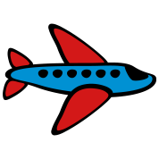 Airplane, 3 Color