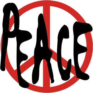 Peace With Peace Symbol
