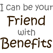 A friend with 'benefits'