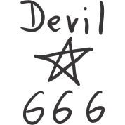 Devil  666 - Pentacle