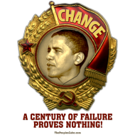 Design ~ Obama Lenin Medal: Change