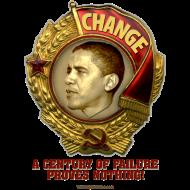 Design ~ Obama Lenin Medal: Change