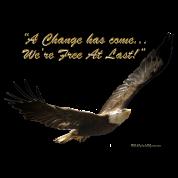 FREE AT LAST! Eagle