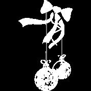 ornament - white