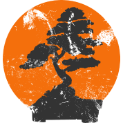 Miyagi Banzai Tree Karate Kid Patch