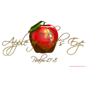 Apple of Gods Eye Christian T-Shirts