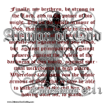 Armor of God, Cool Christian T-Shirts