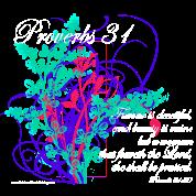 Proverbs 31 Virtuous Woman T-Shirt Design