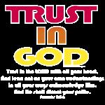 Christian trust in god bible verse
