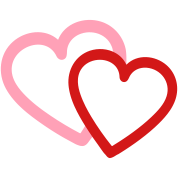 Love heart hearts valentine