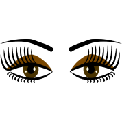 Big Brown Eyes - DIGITAL DIRECT DESIGN
