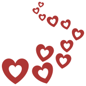 Valentines Hearts Design