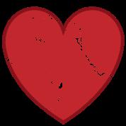 Cool Valentine Vintage Heart