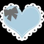 Lolita Heart-blue