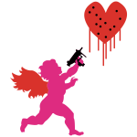 Valentine's Day Cupid Uzi