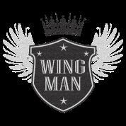 funny wingman tee
