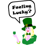 Female Leprechaun for St. Patrick's Day T-Shirt