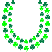 Irish Shamrock Lei, Open End