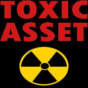 Toxic Asset With Hazardous Waste Symbol