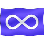 Metis Flag First Nations Art