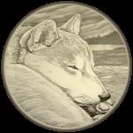 Shiba Inu Husky Dog Art Shirts Gifts Apparel