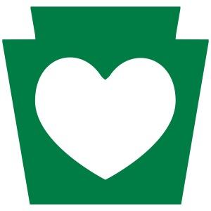 PA Keystone Heart