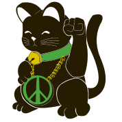 Black Peace Cat