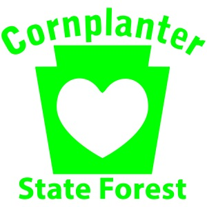 Cornplanter State Forest Keystone Heart