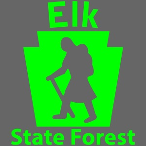 Elk State Forest Keystone Hiker female