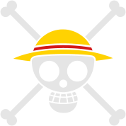 Straw Hat Pirates Flag for Black Shirts
