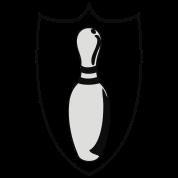custom bowling league shield