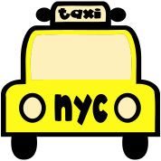 Taxi Cab NYC Retro