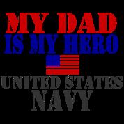 DAD HERO NAVY