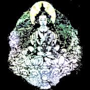 Transparent Earth Buddha