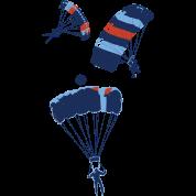 cool skydiving parachutes