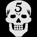 Operator 5 Skull Metallic