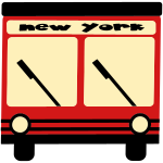 New York Hybrid Bus, 3 Color