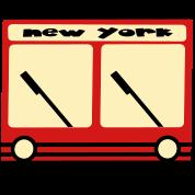 New York Hybrid Bus, 3 Color
